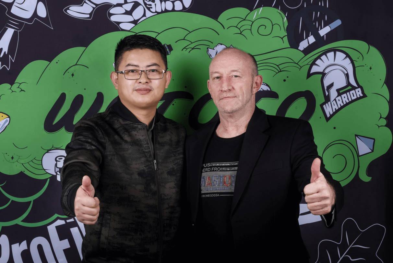 Wotofo CEO Sky Zhang