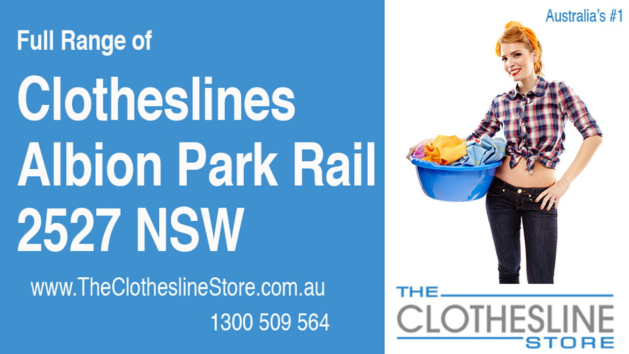 New Clotheslines in Albion Park Rail 2527 NSW