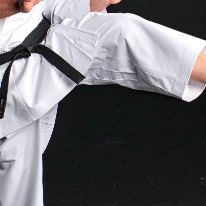 WKF Approved Karate Gi Kata Kaminari Full-length Gusset