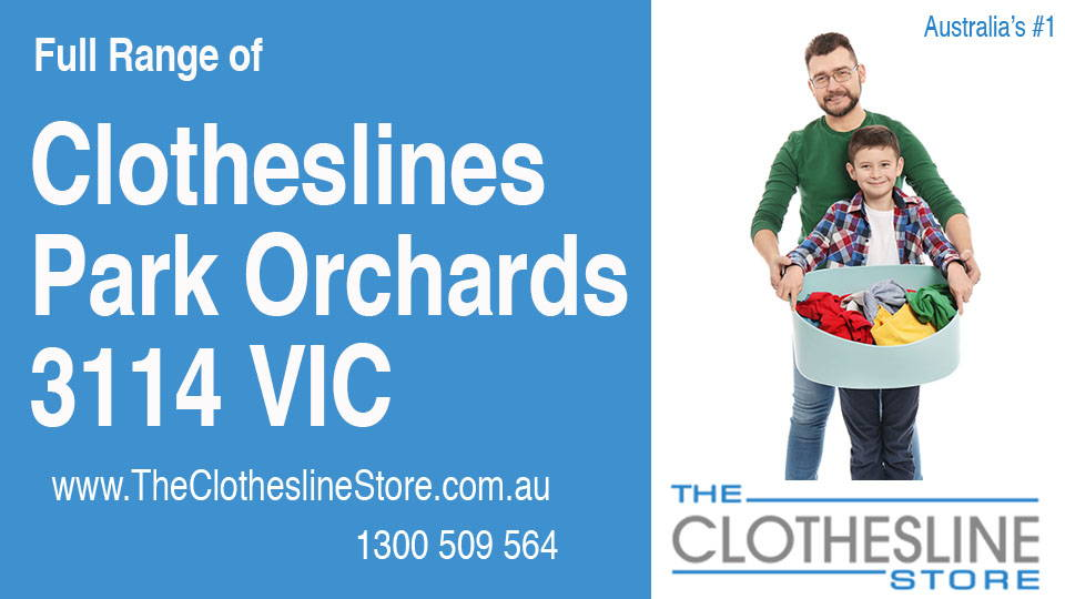 New Clotheslines in Park Orchards Victoria 3114