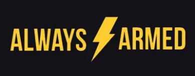 Always armed logo