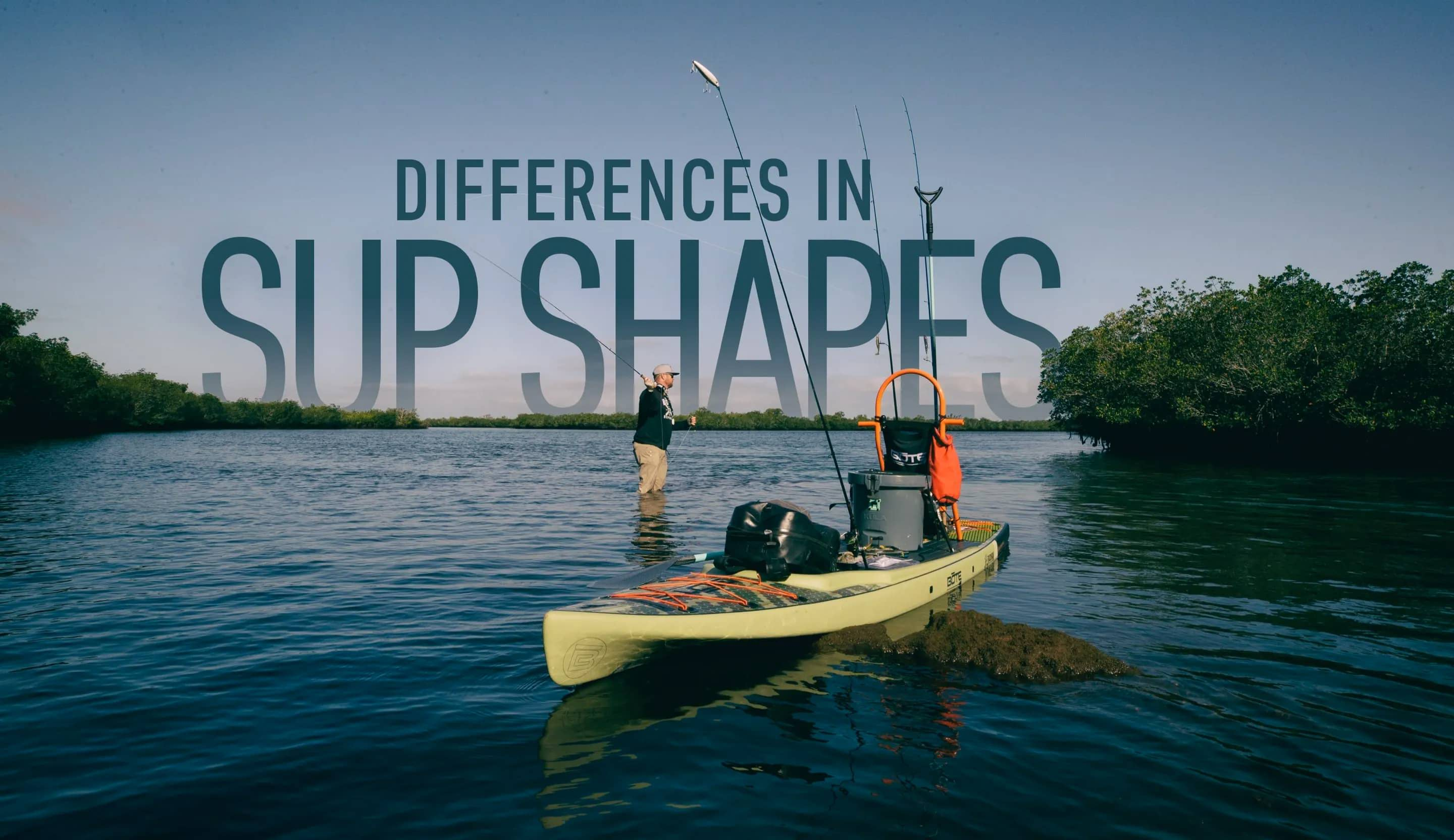 Differences in SUP Shapes Image