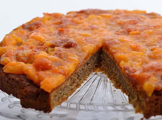 Dessert Apricot Cake
