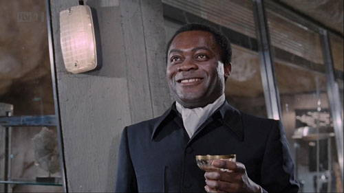 Actor Yaphet Kotto as Mr.Big in Live and Let Die