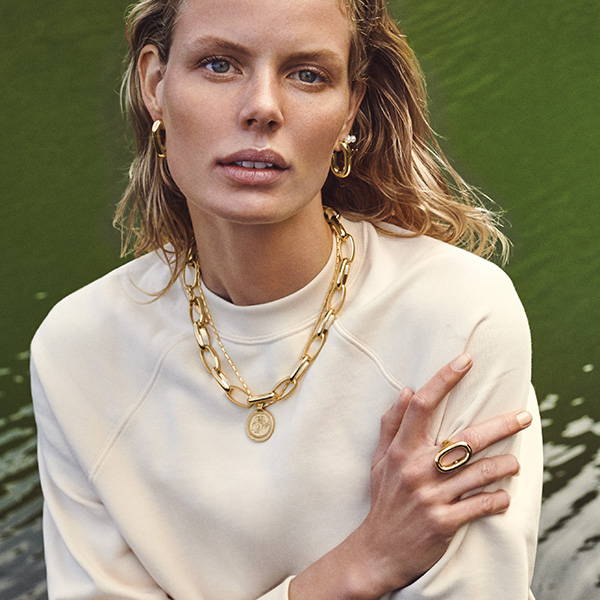 Your styling guide to a cool look with layered necklaces