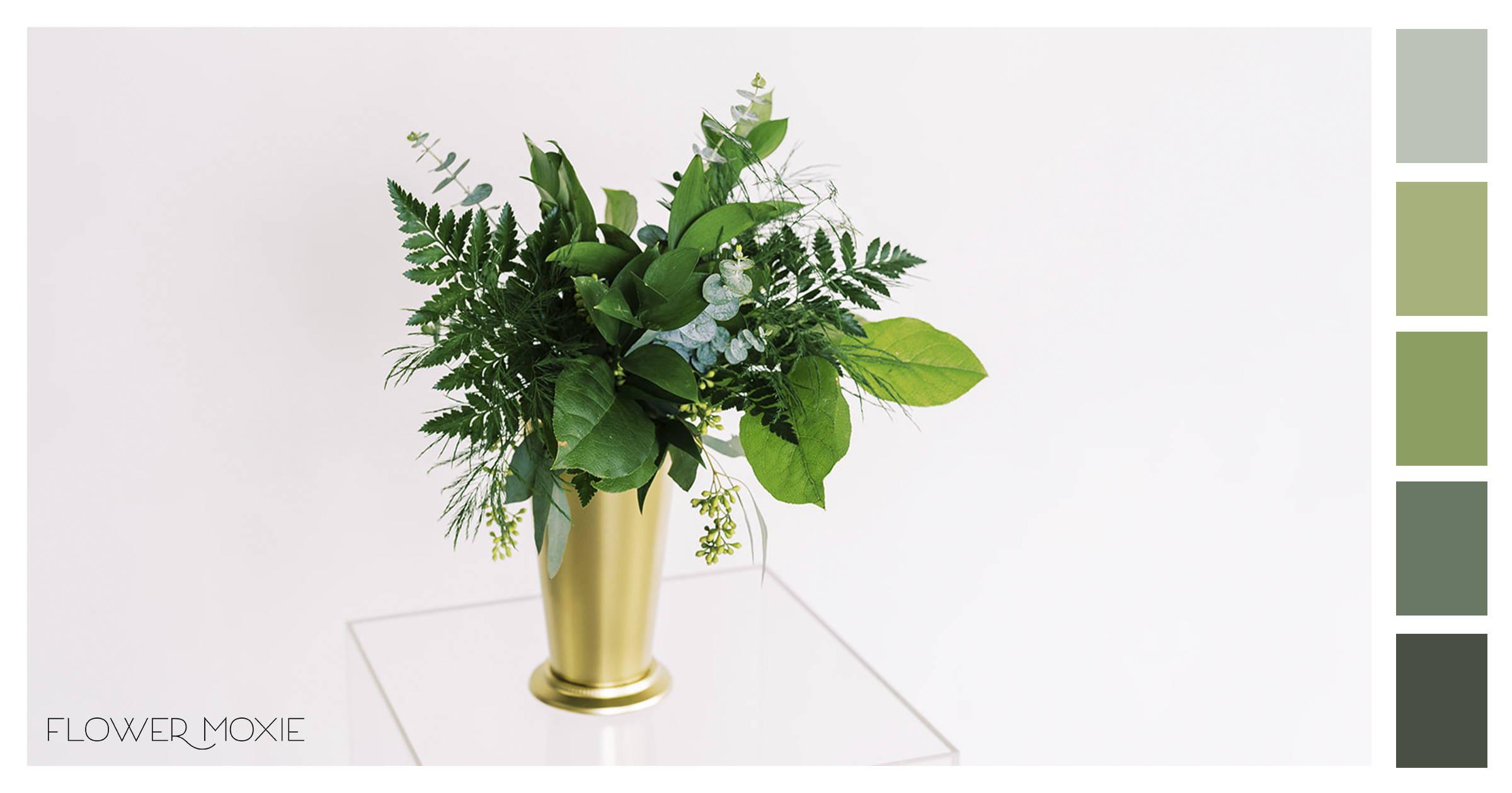 all greenery diy wedding flower packages online