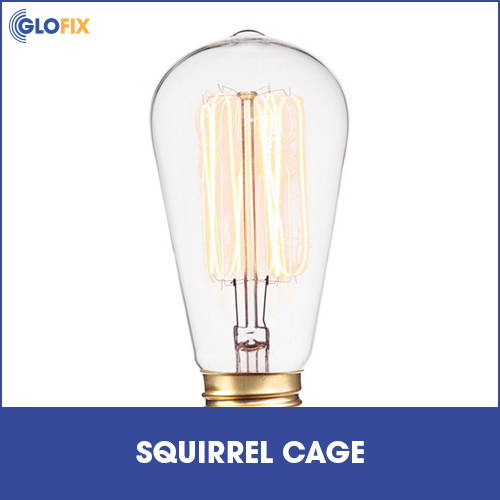Collection of squirrel cage lighting at GloFix