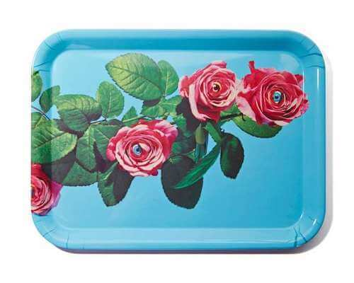Seletti Melamine Tray - Roses