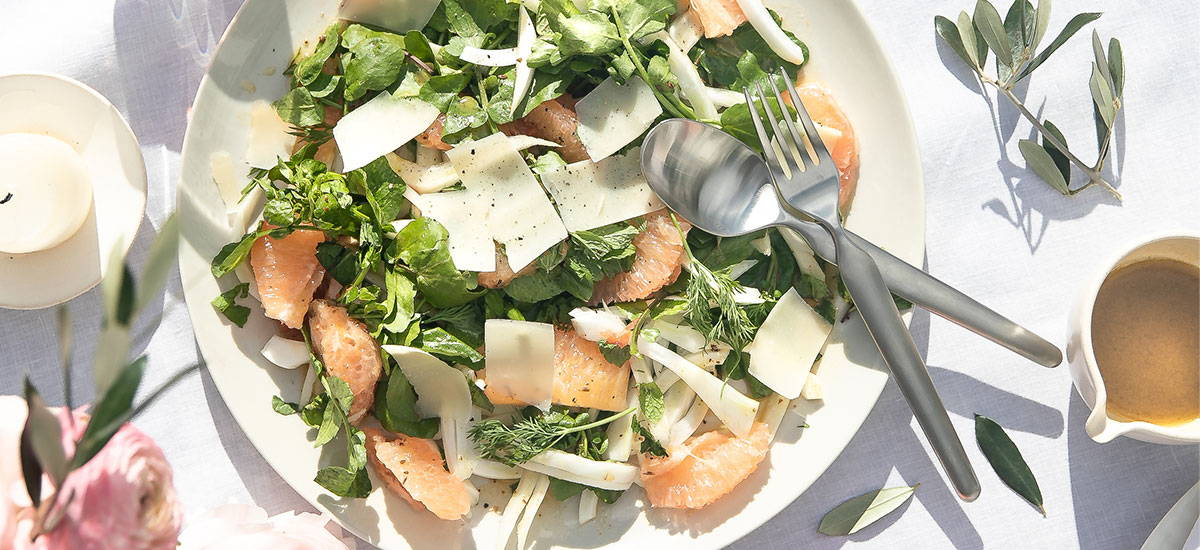 Fennel, Pink Grapefruit & Watercress Salad