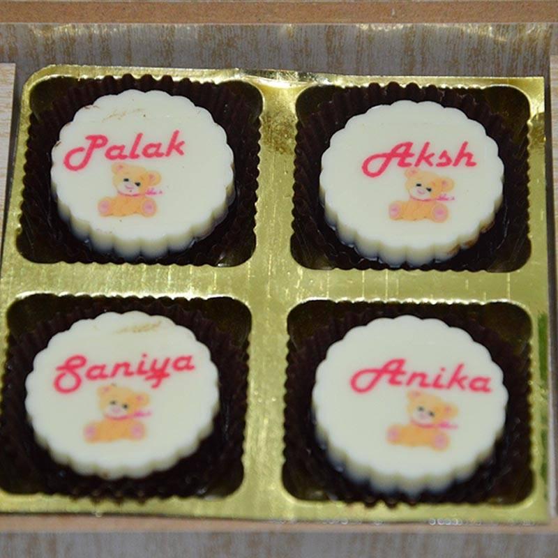 Names printed on Chocolates