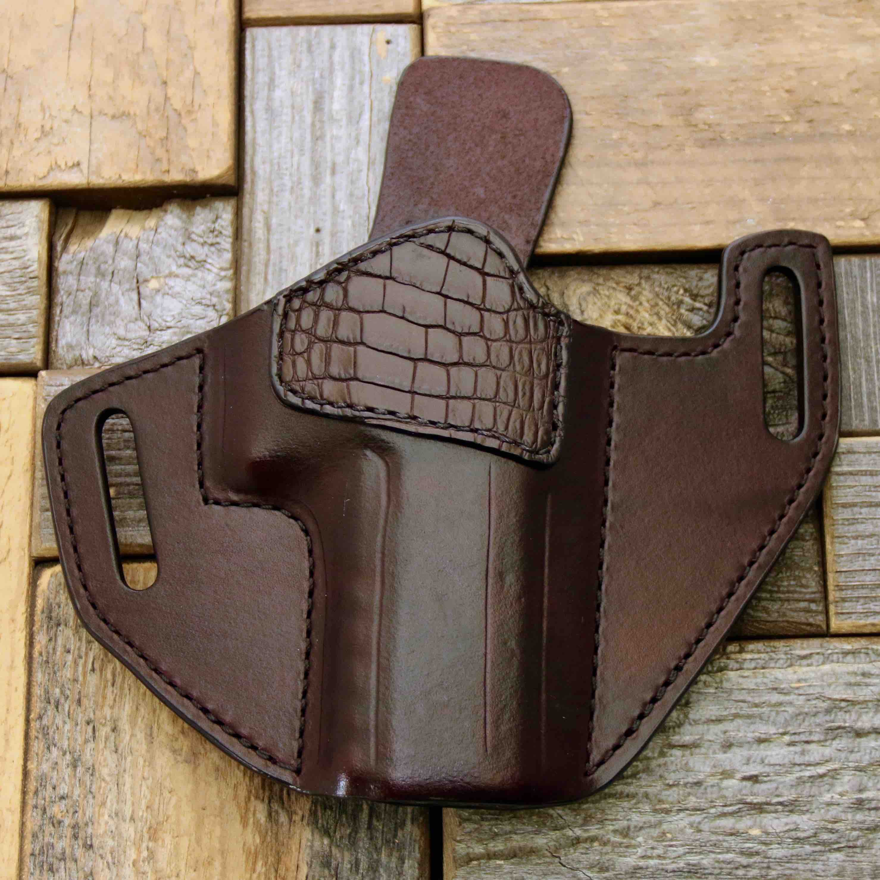 leather red dot holster