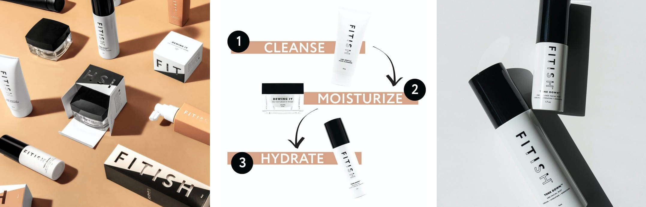 Fitish Skincare CBD Beauty Products
