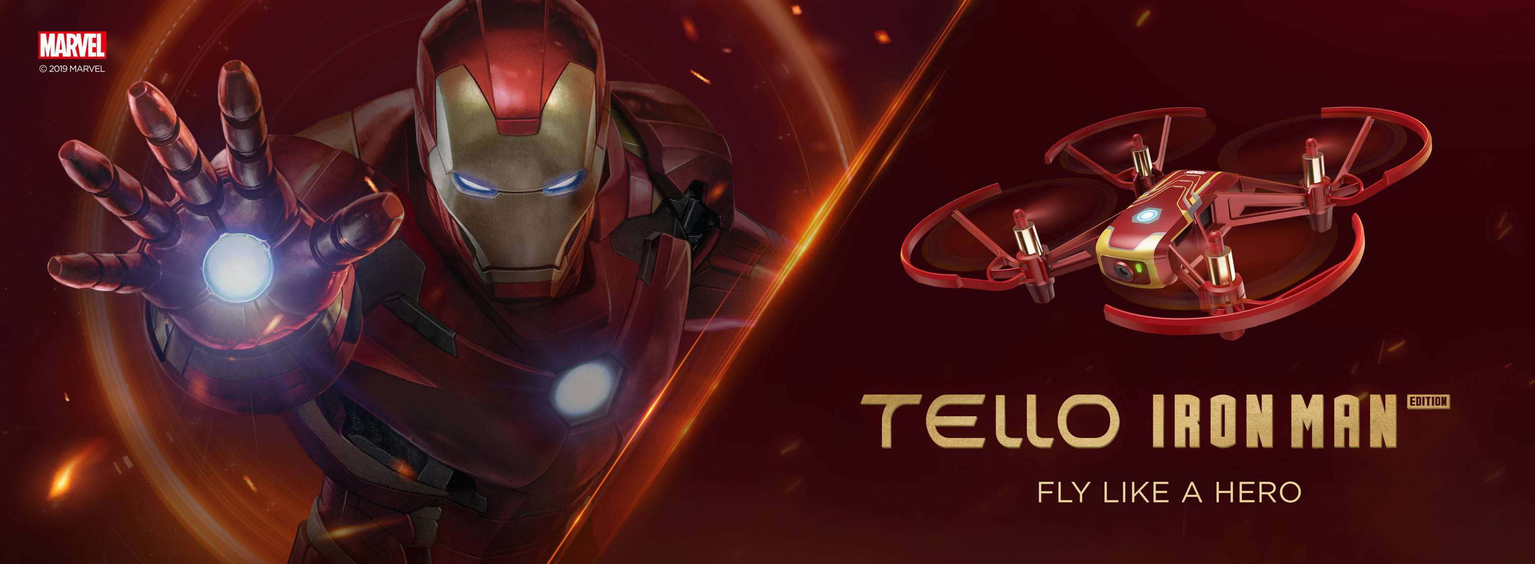 Tello Iron Man Edition Dr Drone