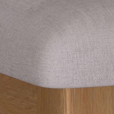 Oak & Fabric Dressing Table Stools