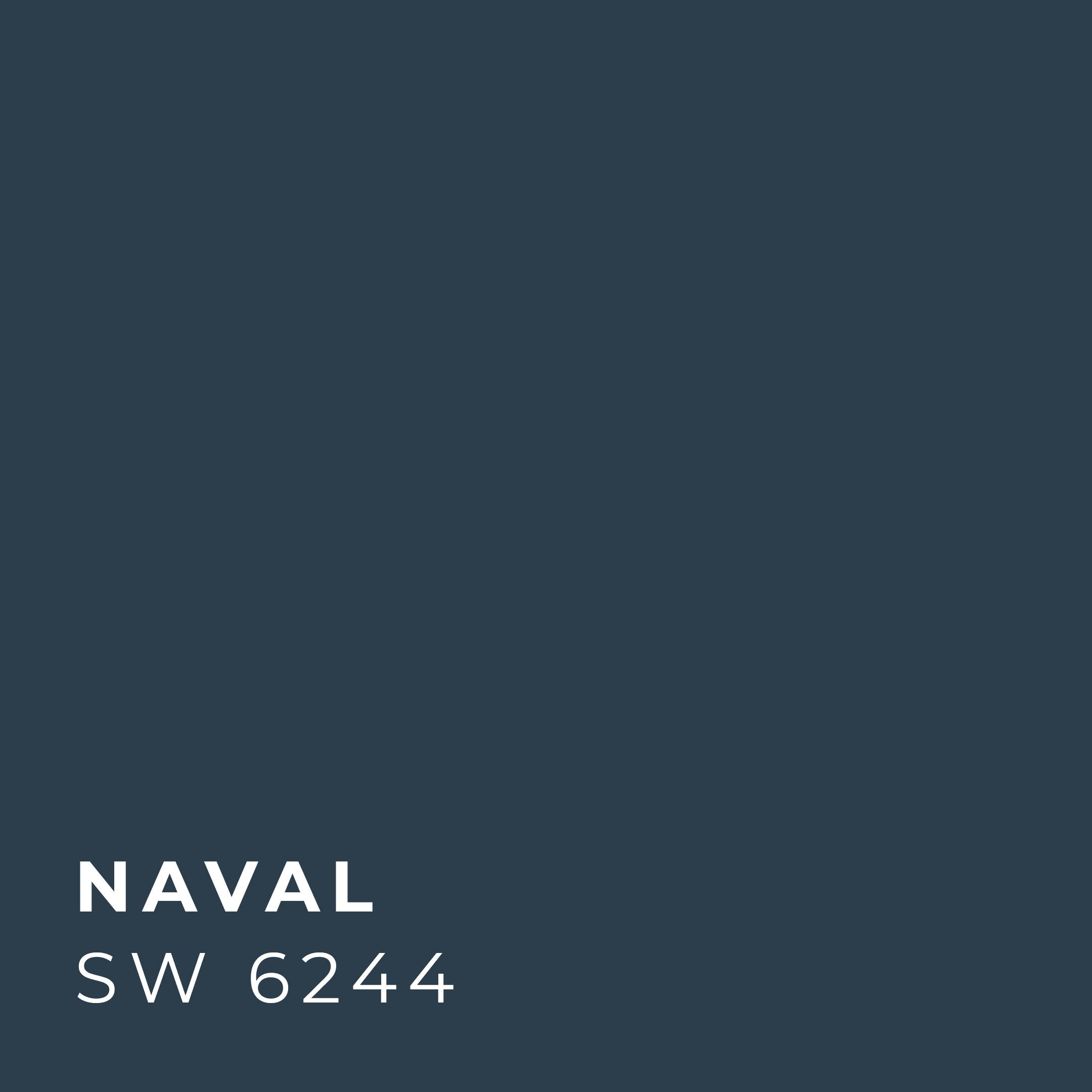 Sherwin Williams 2020 Color Naval