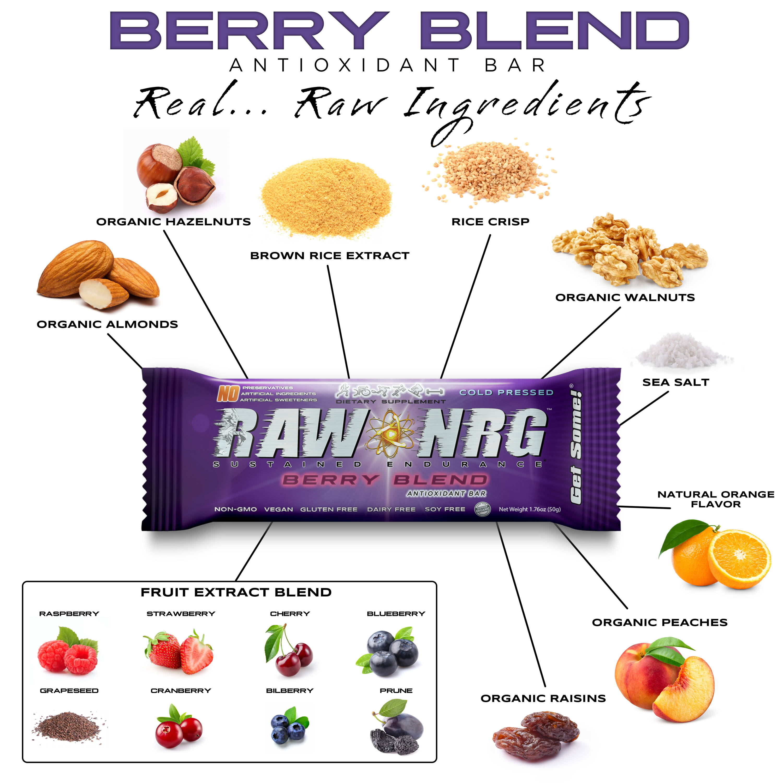 berry nutrition bar - RAW NRG