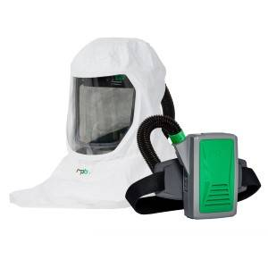 Respirator w/PAPR (Battery Powered HEPA Filtered Air Purifying Device) RPB Made in USA