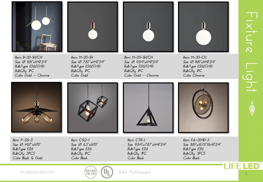 Special Design Lamps For Home Miami Life LED