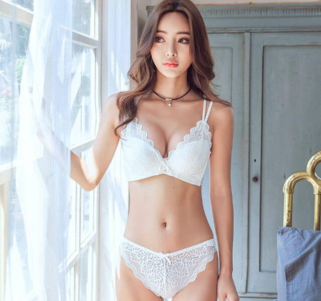 Darla Padded Lace Bra Set