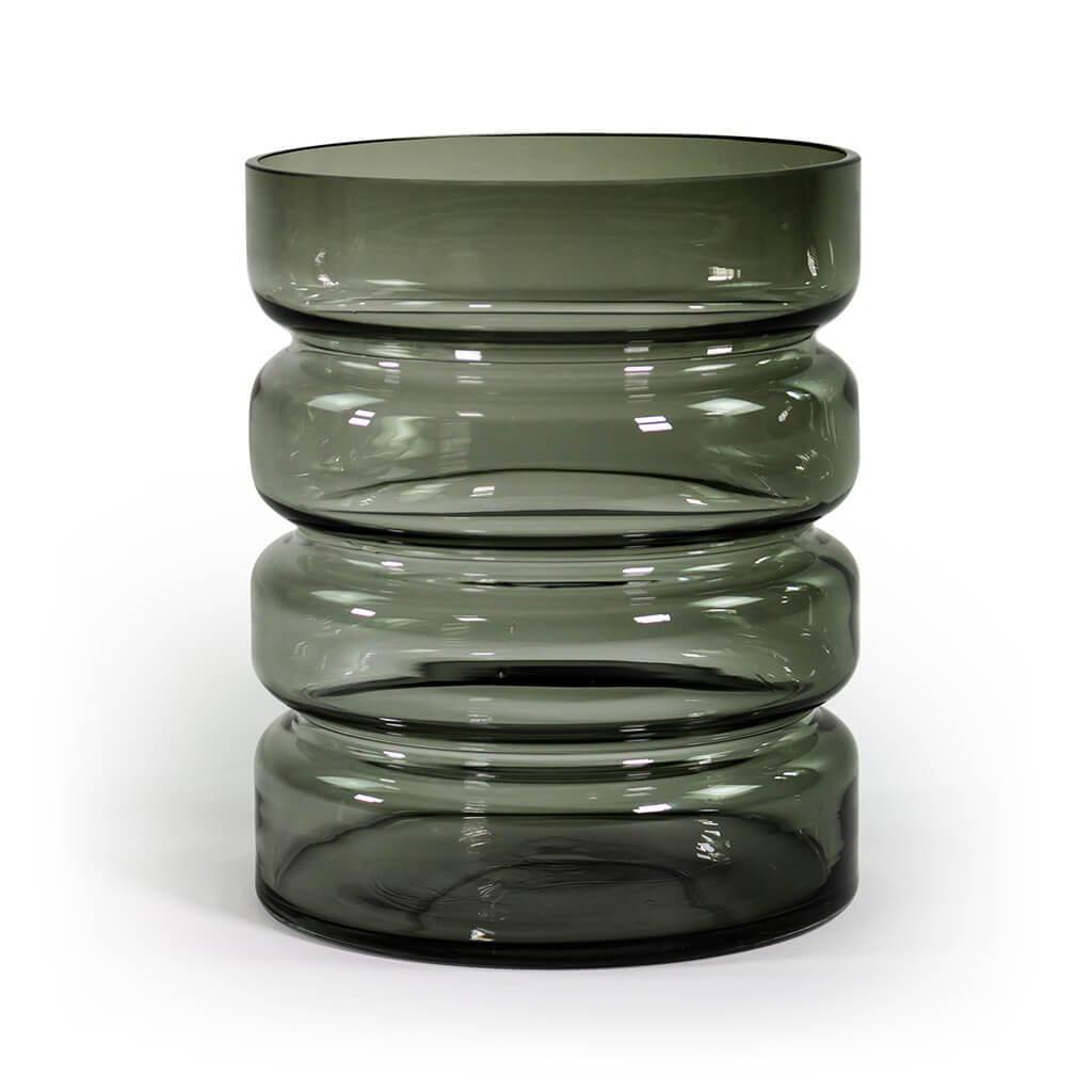 """Vase """"Hildegard"""" rauchgrau Sellerie Kollektion – diesellerie.com"""