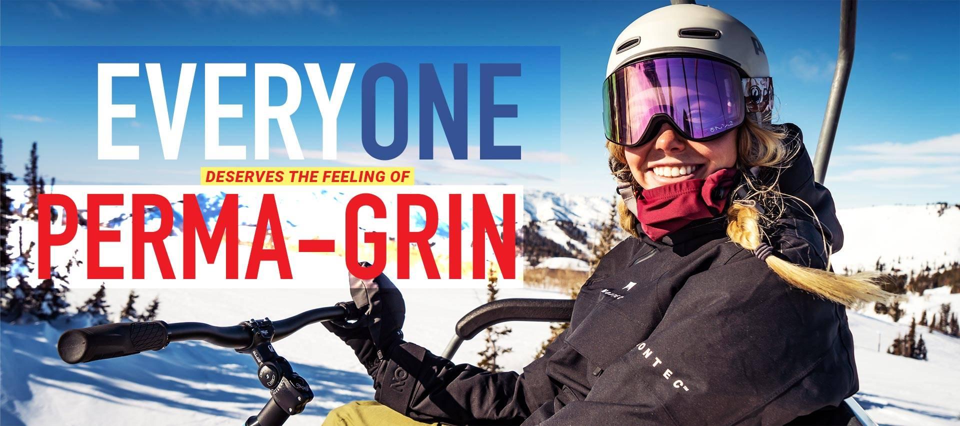 SNO-GO Everyone deserves to feel Perma-Grin