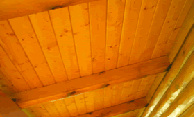 Ceiling or decking tongue and groove