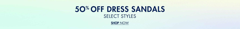 50% Off Dress Sandals
