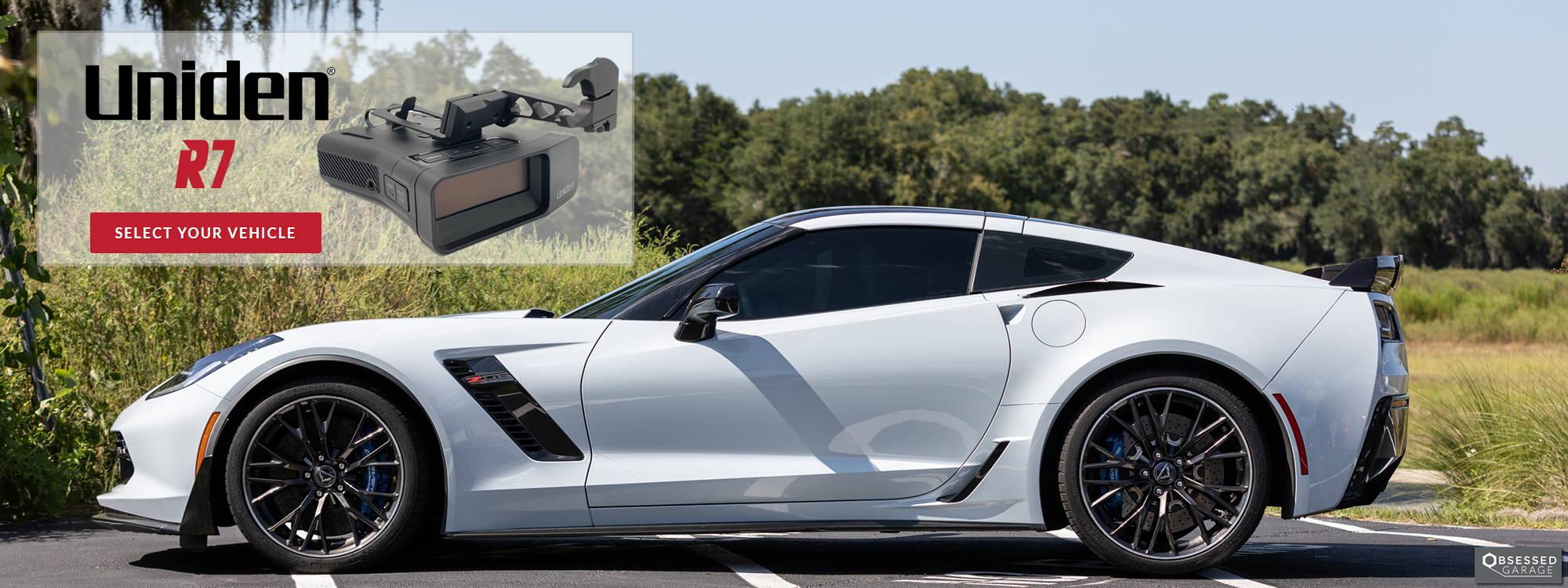 Uniden R7 Corvette C7 Z06 Z07