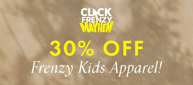 Guess Click Frenzy Kids Apparel 30% off