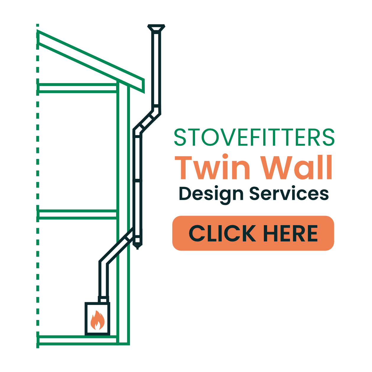 Stovefitter's Twin Wall Design Services
