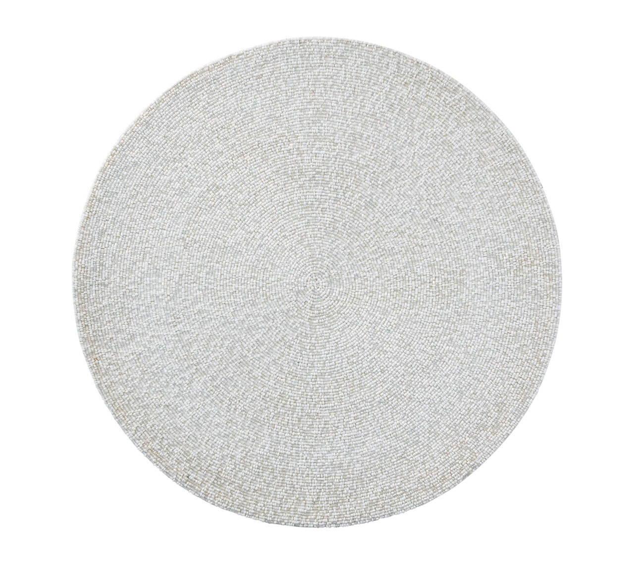 CONFETTI PLACEMAT IN WHITE