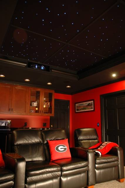 Starscape galaxy ceiling tile ideas