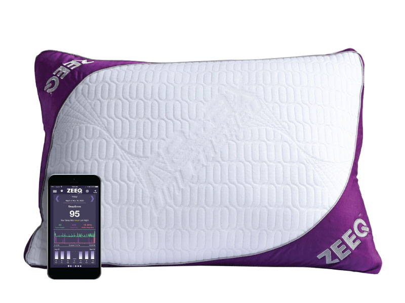 ZEEQ Pillow with phone
