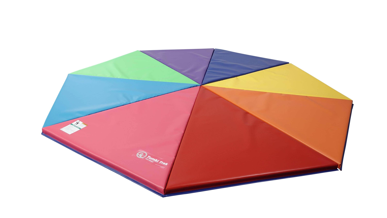 Rainbow Pizza Mat