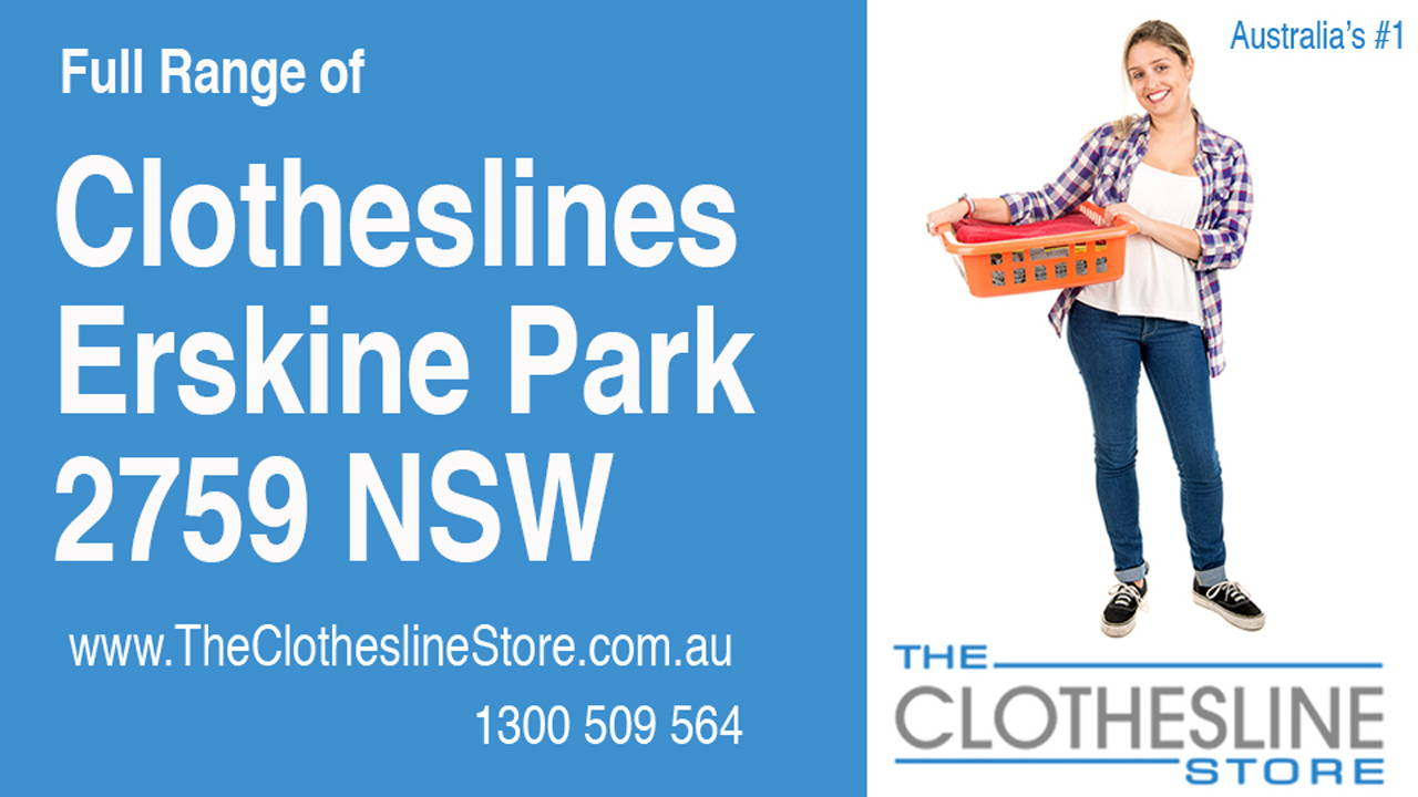 New Clotheslines in Erskine Park 2759 NSW