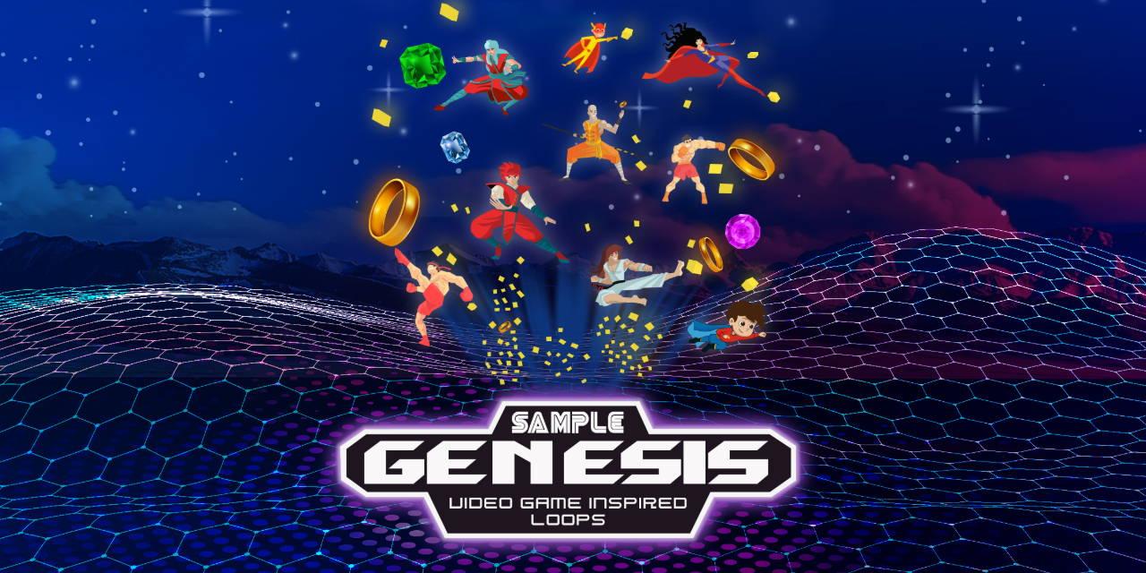 Sample Genesis - Retro Video Game Inspired Sample Loops and Midi Loops - Sample Kit - Soundoracle.net