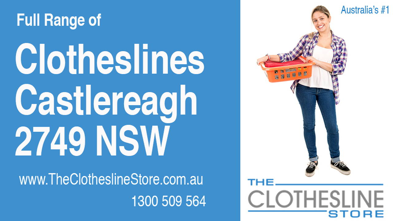 New Clotheslines in Castlereagh 2749 NSW
