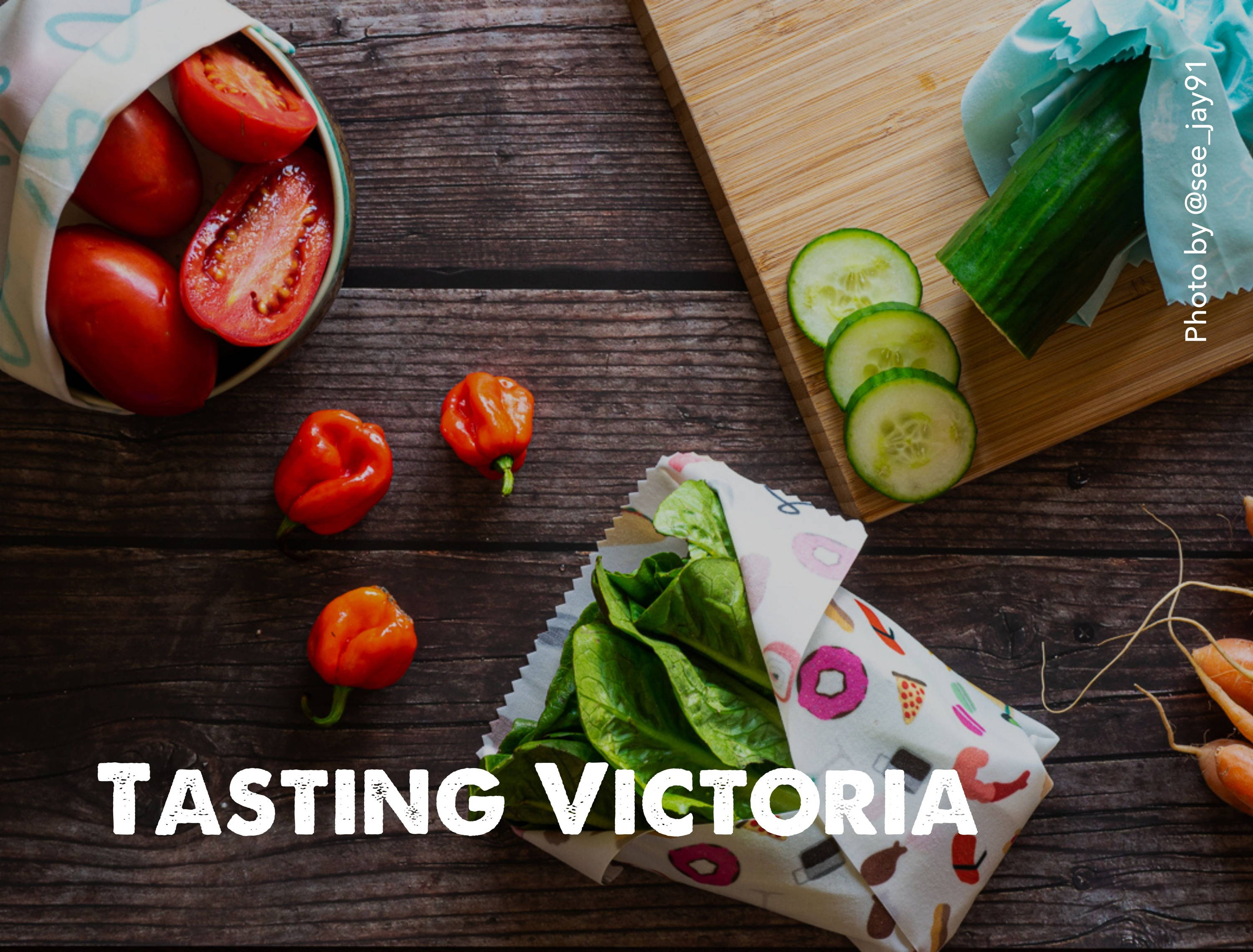 Tasting Victoria and Nature Bee collab