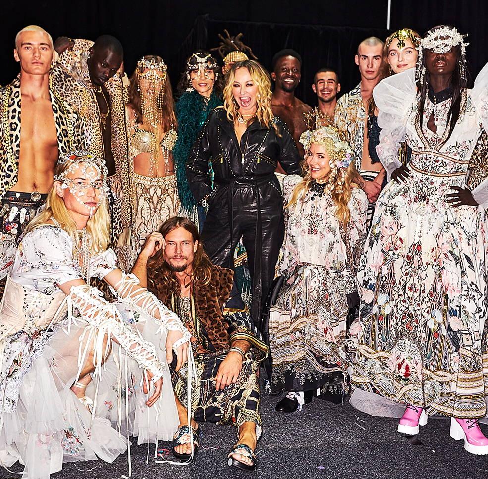 CAMILLA Australia Fashion Week, AAFW CAMILLA, CAMILLA runway show, Camilla franks fashion designer