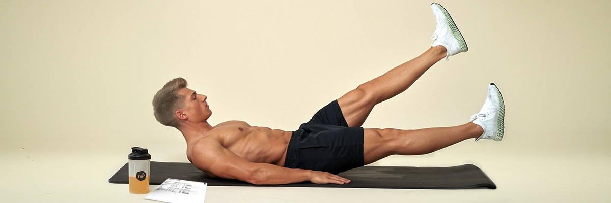 Muskelaufbau Training zu Hause
