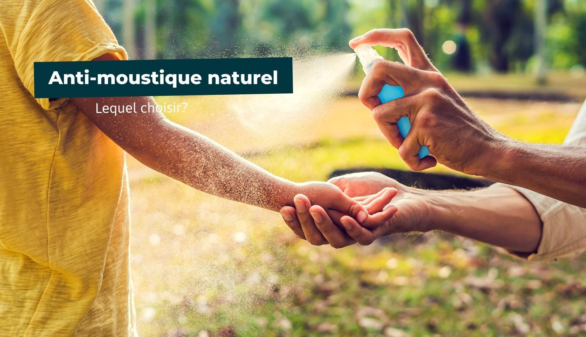 Quel anti-moustique naturel choisir ?