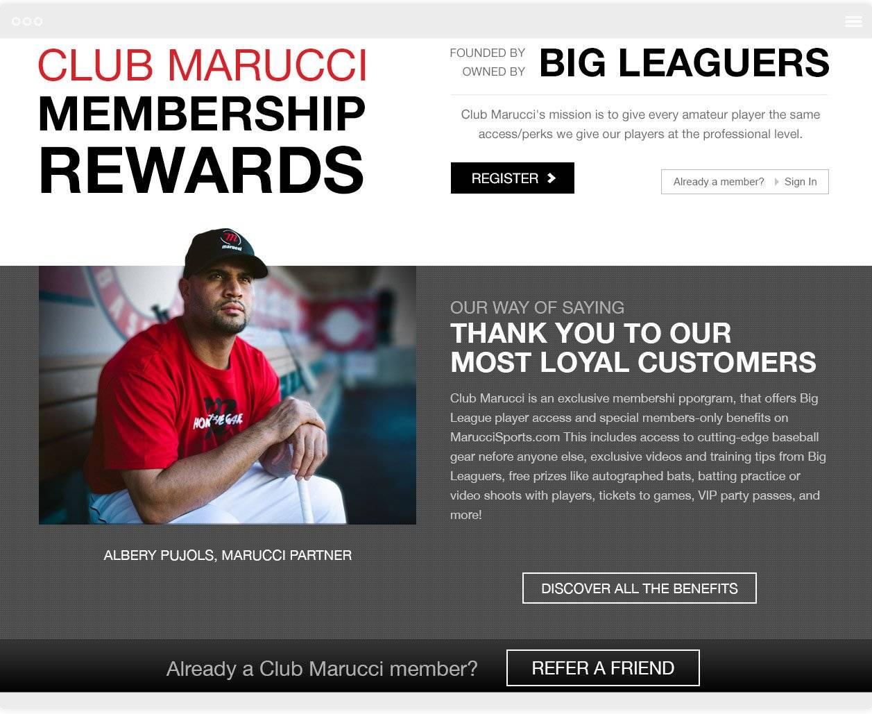 Marucci The Challenge 2 Magento Development