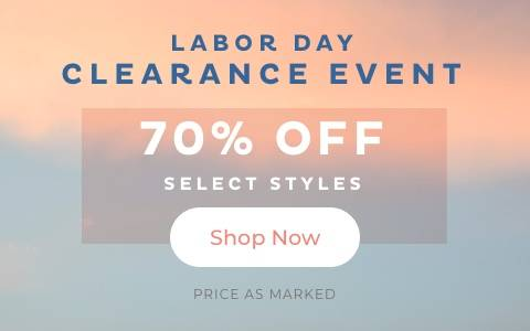 70% Off Select Styles