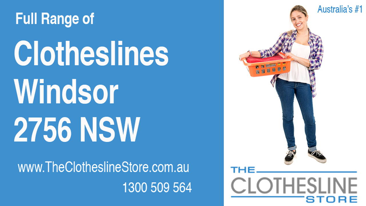 New Clotheslines in Windsor 2756 NSW