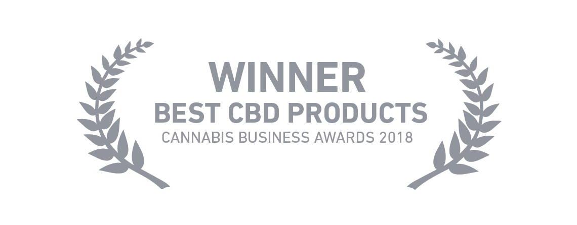 Best CBD Product 2018 award