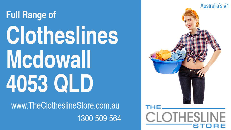 New Clotheslines in Mcdowall Queensland 4053