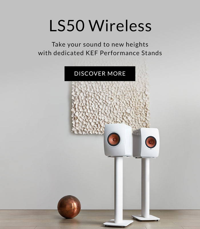 New KEF LS50 Wireless Performance Stands