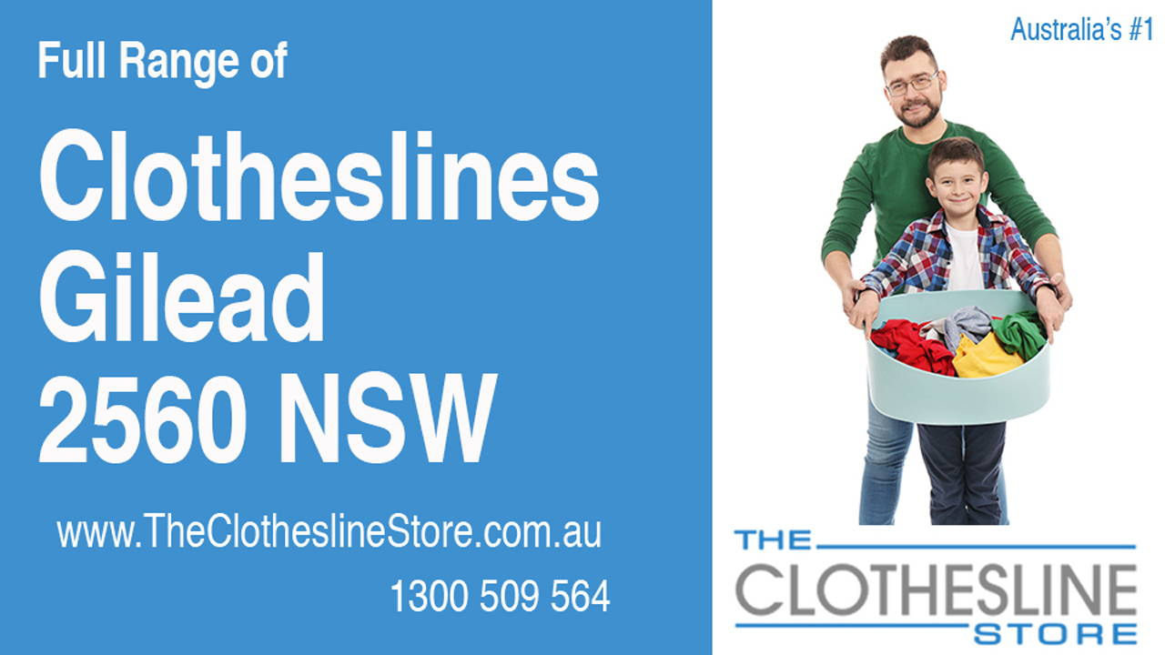 New Clotheslines in Gilead 2560 NSW