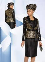 Elegance Fashions | Black Friday Designer Women Church Suits Clearance Sale