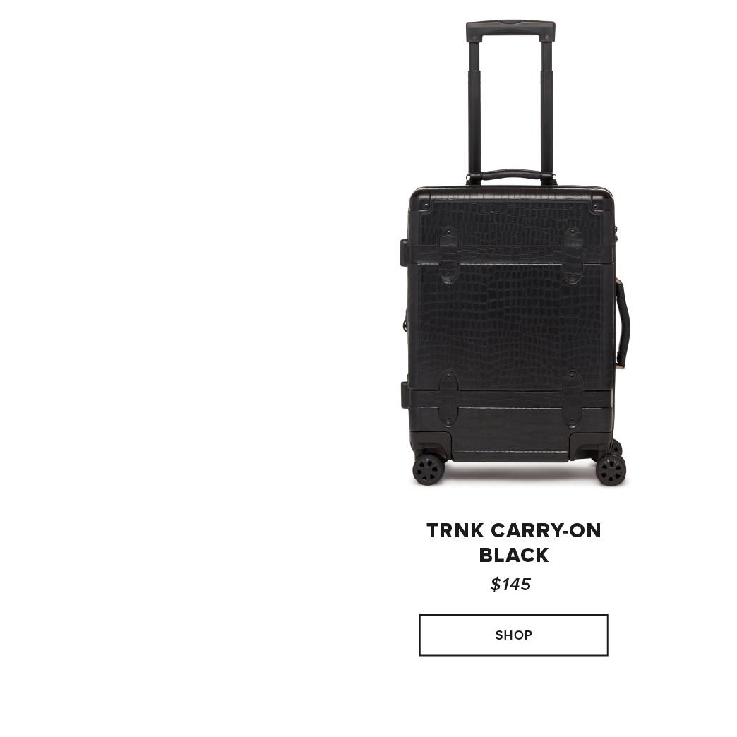 CALPAK TRNK Carry-On - Black